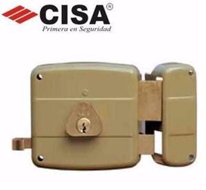 Cerradura Para Sobreponer Cisa Original Con 2 Llaves Nueva