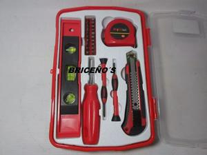 Kit De 26 Pzs Para El Hogar Tijera Destornilladores Y Mas
