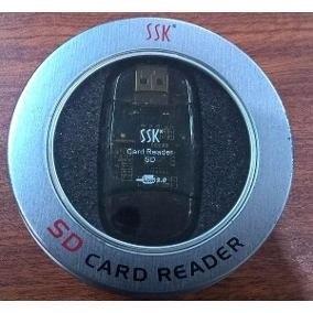 Lector De Memoria Sd Y Micro Sd, Card Reader Ssk + Estuche