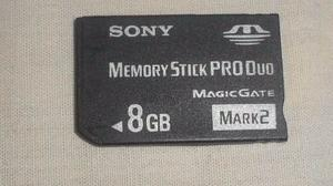 Sony 8gb Memory Stick Pro Duo Psp Camara