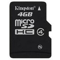 Tarjeta Micro Sd 4gb Kingston Con Adaptador