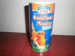Comida para peces golfish goldy color spirulina posot class for Comida para peces