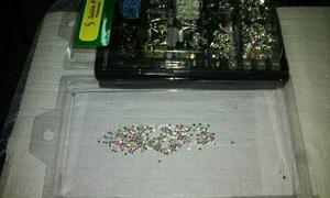 100 Cristales De Swarovski Tornasol Para Uñas Piedras