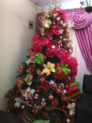 Arbolito De Navidad De 2,30 De Alto Muy Esponjoso