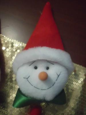 Caritas De Muñeco De Nieve Para Adornar En Navidad