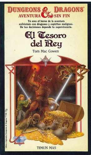Comics, El Tesoro Del Rey Serie Dungeons & Dragons.