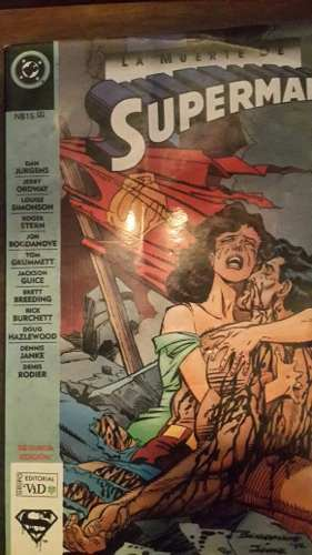 La Muerte De Superman Dc Comics
