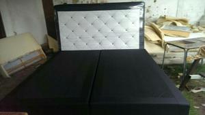 Camas tipo box de madera posot class for Tipos de camas matrimoniales