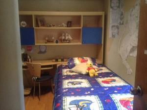 Juego De Cuarto Para Niño Doble Cama. Centro Mueble