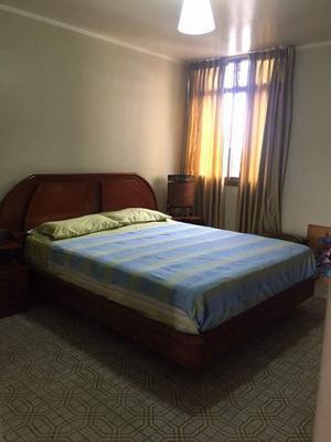 Juego Dormitorio Matrimonial Madera Caoba