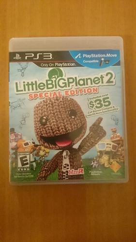 Little Big Planet 2 Juego Playstation 3 Ps3 Poco Uso Fisico