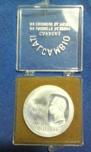 Moneda 10 Bolivares de Plata