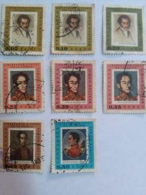 Para Colección, Simón Bolívar, C/mata Sello, Usadas En