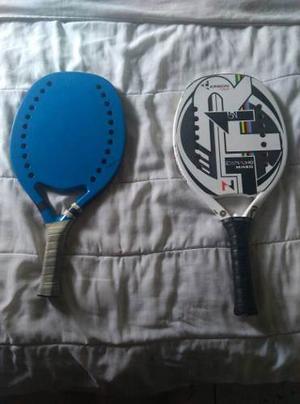 Raquetas De Beach Tennis R1 Y Wage Personalizada