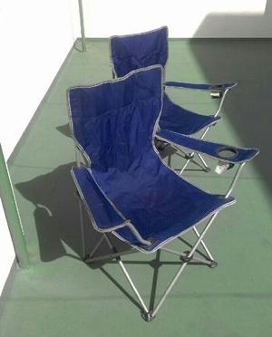 Silla Playera Paraguas De Playa (plegable)