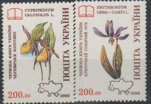 Ukraine Libro Rojo De Ucrania Flora Especies Amenazadas