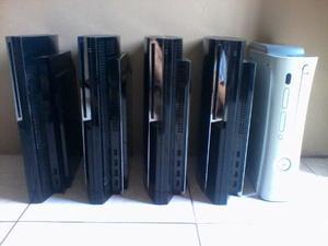 Vend O Camb Lote De Play 3 Ps3 Xbox 360