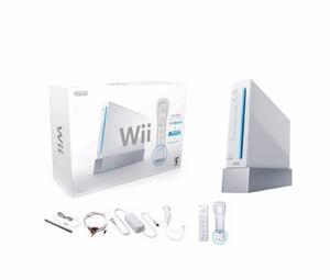 Wii Sports En Su Caja Con Controles + Juegos