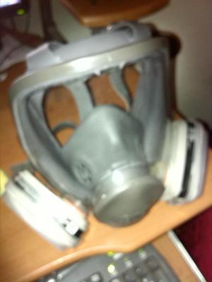 Mascara 3m Antigas  Cara Completa Con Filtrosusado