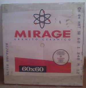 Porcelanato Mirage - 60x60 [tres Piezas] Tono Champagne
