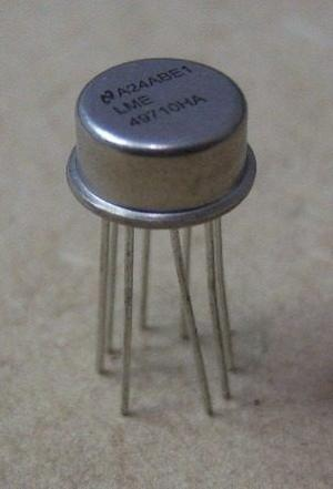 Amplificador Operacional De Alto Perfomance Lmeha