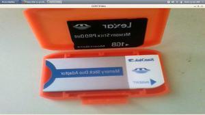 Memory Stick Pro Duo 1gb + Adaptador Para Psp O Camara