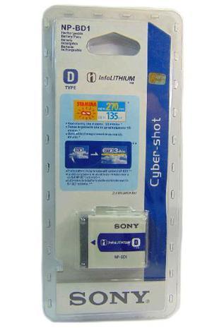 Bateria Pila Para Camara Digital Sony Np-bd1