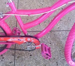 Bicicleta Rosada Para Niñas Rin 20
