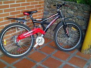 Bicicleta montañera corrente rin 26