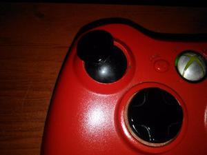Control Inalámbrico Xbox 360 Color Rojo Con Receptor