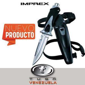 Cuchillo De Buceo Marca Tusa Modelo Imprex- Fk-210