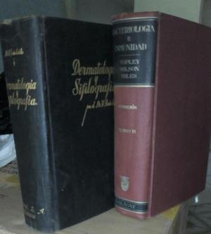 Libros de Medicina de Varias Ramas.