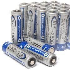 Pilas Baterias Recargables Doble Aa Triple Aaa Eco