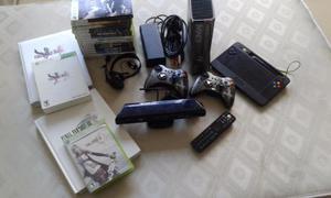 Super Combo Xbox 360 Slim 320gb + Juegos Y Accesorios