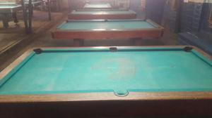 Vendo 5 mesas de pool