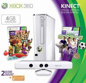 Xbox gb Kinect Blanco. Nuevo Sellado. Tienda Fisica