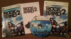 ¡click! Rock Band 2 Juego Original Xbox 360 Musica Rock