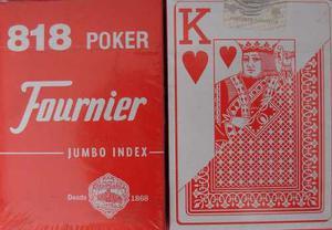 Barajas Cartas Poker Fournier