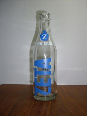 Botella De Club Soda Zeta