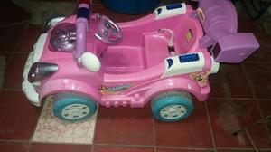 Carro Electrico Para Niña Usado *sin Bateria*