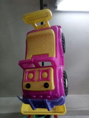 Carro Para Montarse Niños Y Niñas 60 X 30 Cmts