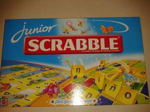 Juego De Mesa Scrabble Junior Original De Mattel Nuevo