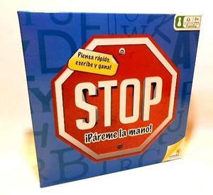 Juego De Mesa Stop (juego De Palabras) Original Ronda