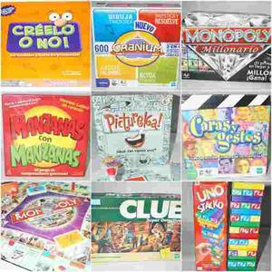 Juegos De Mesa Monopoly Pictureka Cranium Clue Etc...