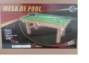 Mesa De Pool Jeidy Toys Pequeña Para Niños