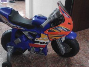 Moto De Bateria Para Niños Con Muy Poco Uso