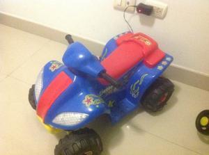 Moto Para Niños De Bateria