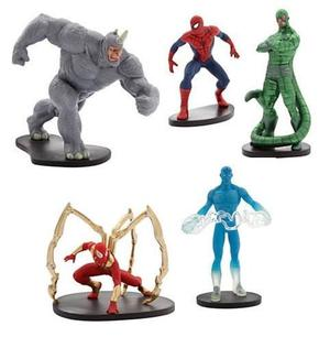 Set De 6 Figuras De Spiderman Coleccion Combo
