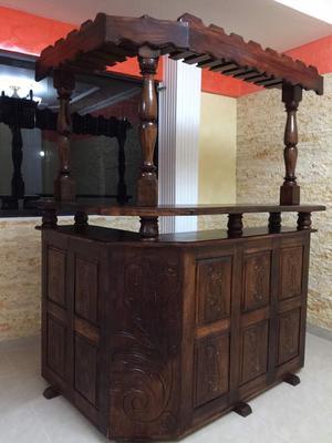 Bar Madera Saman