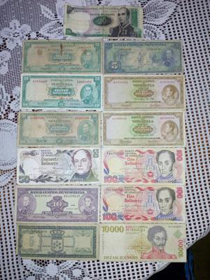Coleccion de Billetes